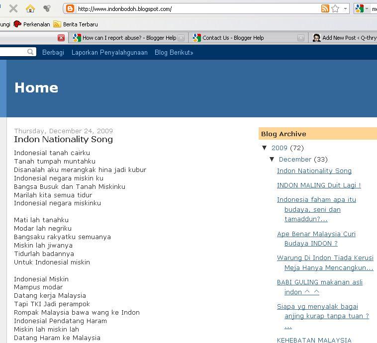 contoh situs yang HARUS dilaporkan