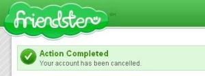 account canceled