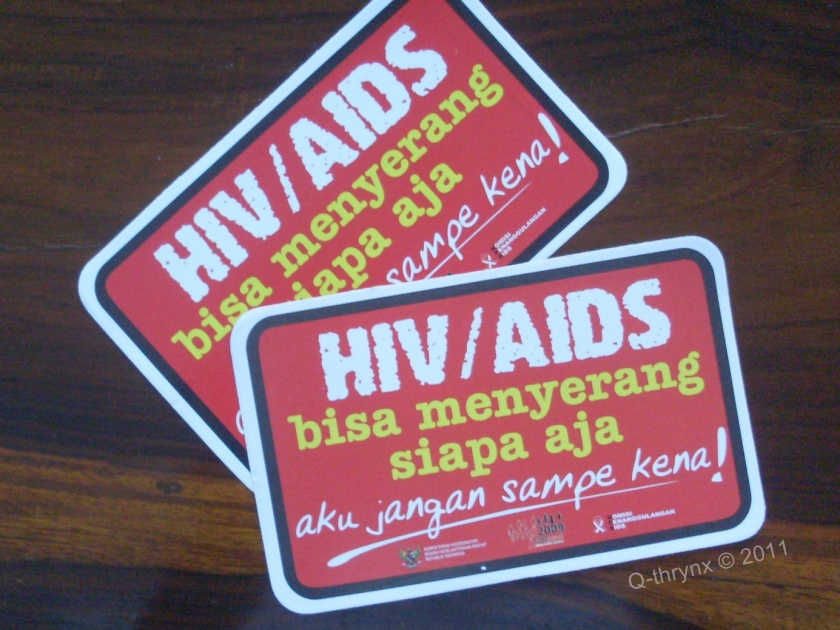 sticker AIDS