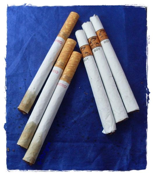 rokok intro dan rokok boy