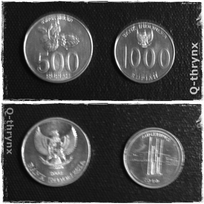 koin 500 dan 1000 rupiah