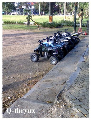 persewaan ATV di alun-alun purwodadi