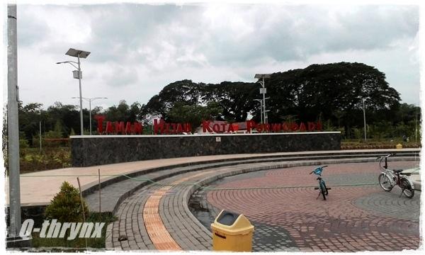 lettersign taman hijau kota purwodadi