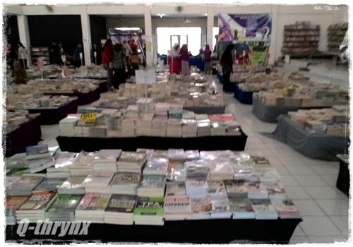bazaar buku wisuda budaya purwodadi