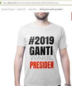2019 ganti WAKIL presiden